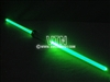 Chrome Double End Laser Sword - Green