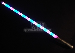 Multicolor Sword with Silver Handle
