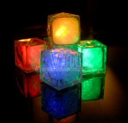 Lighted Cube - Red