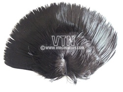 Mohawk Hair Black