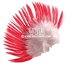 Mohawk Hair Pink/White