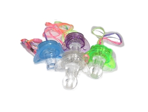 Blinking Toy Pacifier Necklace