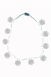 Super Flash Necklace - Snowflake