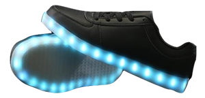 LED Shoes - Black (Men's Size 10)