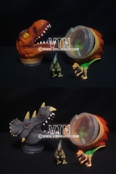 "8"" Dinosaur Headcases - Assorted"