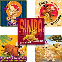 Lion King-Hakuna Matata Stickers