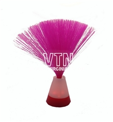 "10.5"" Pink Fiber Optic Centerpiece"