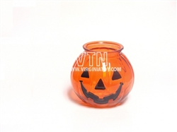 "4"" Glass Pumpkin"