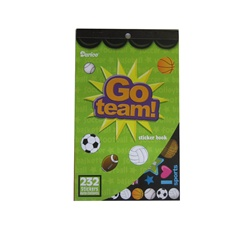 Sticker Book - Go Team