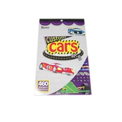 Sticker Book - Custom Cars
