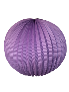 "12"" Accordion Paper Lantern (3 pack) - Lavender"