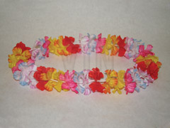 "42"" Two Tone Flower Lei"