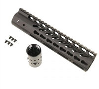 "GUNTECH USA 10"" ULTRA LW THIN KEYMOD RAIL"