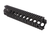 "GUNTECH USA 10"" ULTRA LW THIN KEYMOD ""RED"" RAIL"
