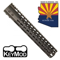 "GUNTECH USA 12"" ULTRA LW THIN KEYMOD RAIL"