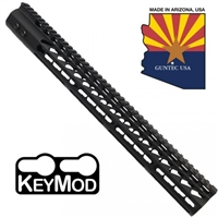 "GUNTECH USA 16.5"" ULTRA LW THIN KEYMOD RAIL"