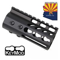 "GUNTECH USA 4"" ULTRA LW THIN KEYMOD RAIL"