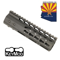 "GUNTECH USA 7"" ULTRA LW THIN KEYMOD RAIL"