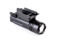 FLASHLIGHT WITH QUICK RELEASE MOUNT