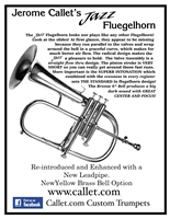 Callet Jazz Flugelhorn (silver) *click here to buy and more photos*