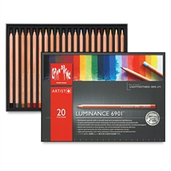 Caran d'Ache Luminance 6901 Colored Pencil Set 20pc