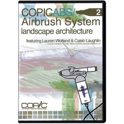 * * COPIC ABS 2 - Airbrush System - Landscape Architecture DVD