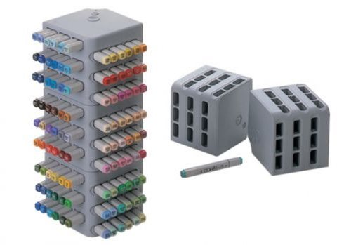 Copic Block Stand [Quantity 1] Marker Organizer Storage Copics Desk Display