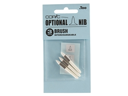 COPIC CLASSIC Brush Nib (not Sketch Marker type) Set of 3