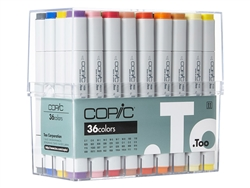 Copic Classic Markers 36 Basic Color Set