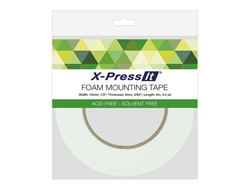 X-Press It Double Sided Foam Tape 12mm x 4mm (1/2 inch x 4.4 yds.)