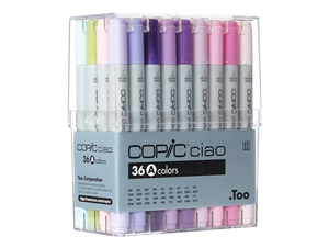 Copic Ciao Markers: 36 Color - Set A