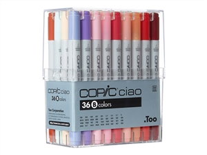 Copic Ciao Markers: 36 Color - Set B