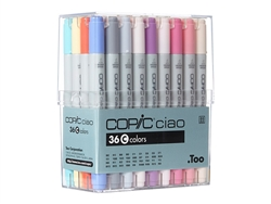 Copic Ciao Markers: 36 Color - Set C