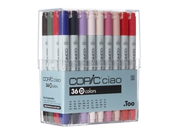 Copic Ciao Markers: 36 Color - Set D