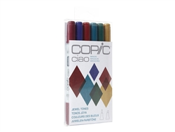 Copic Ciao 6 Piece Kit Jewel Tone Colors