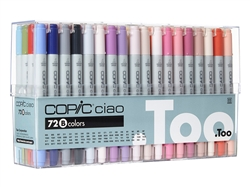 Copic Ciao Markers: 72 Color - Set B