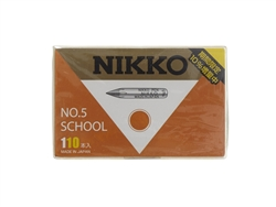 Nikko School Pen Nib - 110 Piece Box