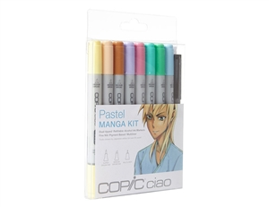 Copic Ciao Manga Kit - Pastel Colors Marker Set