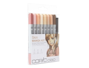 Copic Ciao Manga Kit - Skin Tone Colors Marker Set