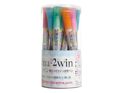 Complete 18 piece 2win Scented Water-based Marker