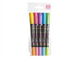 Pastel 5 piece 2win Oil-based Marker Set