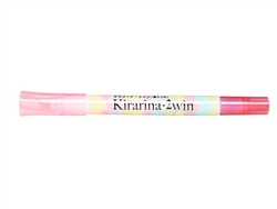 Pale Pink 2win Marker Kirarina Scented Water-Based Marker