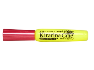 Kirarina Cute Bright Yellow Scented 3D Puff Paint Pen