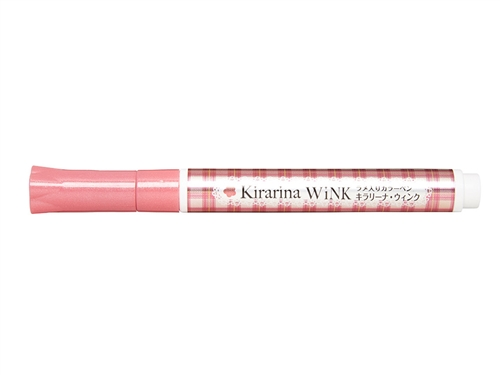 Kirarina Wink Old Rose Glitter Pen