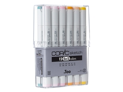 Copic Sketch Markers: 12 Color Set [EX-2]
