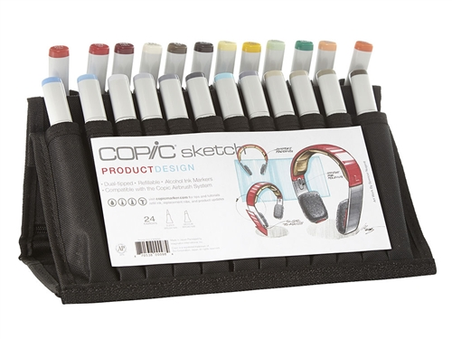 Copic Product Design 24 Sketch Marker Set