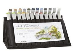 Copic Landscape / Architecture 24 Sketch Marker Set