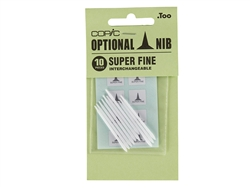 COPIC Classic Marker Nibs Super Fine (Set of 10)