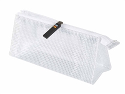 COPIC Zipper Pouch - small marker storage travel bag case clear ~7x2.5x2.5 inch