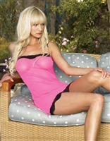 Mesh Chemise With G-String * 8610